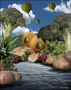 op reis naar broccolië