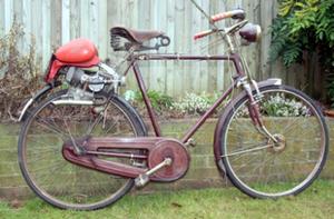 Teagle 49cc hulpmotor 1955