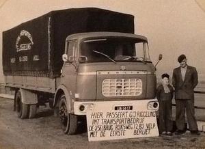 Berliet Transportbedrijf G.J Riggeling Velp (GLD)