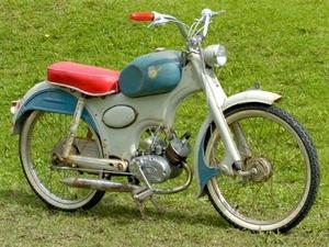 Mars Monza  1957 met JLO. motor