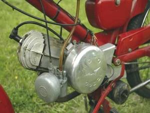 Moto Guzzi Cardellino motor