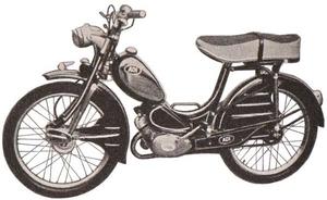 ADI. Sachs Luxus 1956