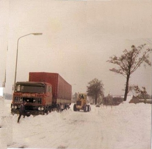 Winter 1979 vast bij Onstwedde