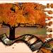 kaart herfst