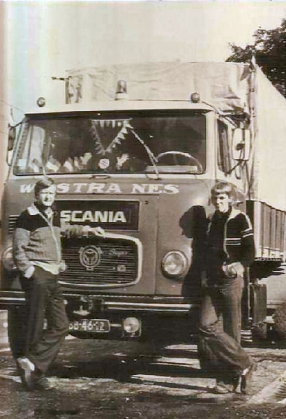 Scania Semi Front
