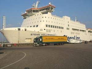 Bij de ferry naar Engeland
