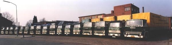 Wagenpark voor strocarton fabriek De Kroon