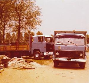 Volvo F 86 en Scania 110 Super