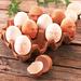 eierdoos met kaalkopjes