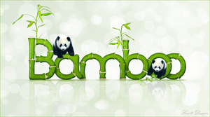 bamboe letters
