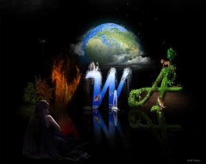 v,w,en aarde