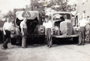 Magirus en Mercedes