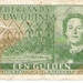 Nederlands Nieuw Guinea 1954 1 Gulden a