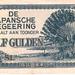 Nederlandsch indië 1942 0,50 Gulden Japanse Bezetting a