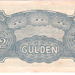 Nederlandsch indië 1942 0,50 Gulden  Japanse Bezetting b