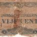 Nederlandsch Indië 1942 5 Cent Japanse Bezetting a