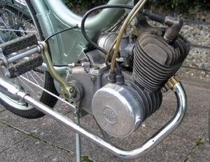 Kreidler K50 1953 van Klaus Weller