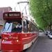 Een GTL op tramlijn 19 Delft Noord op weg naar Voorburg