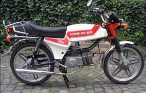 MF24 Flott 1982 de laatst gebouwde Kreidler