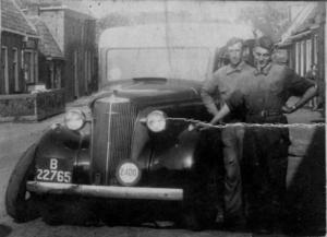 B-22765bakker dokkum   1937. De eerste vrachtauto met slaapcabine