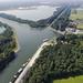 Luchtfoto kanalenkruispunt