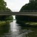 Brug over kanaal naar Schoten
