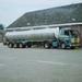 Scania met tank oplegger