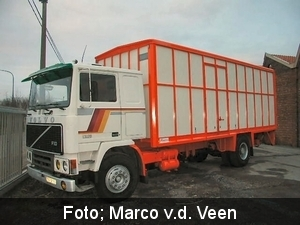 Zo haalde Marco de truck uit Belgie