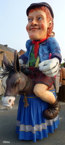 9200 Oudegem - Petatje op zijn ezeltje Anatole