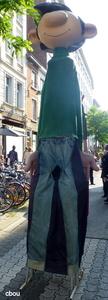1000 Bruxelles (Rue Haute) - Gaston Lagaffe