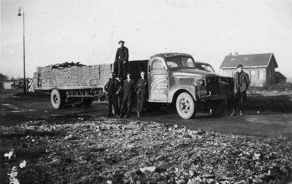 OudeGMC truck