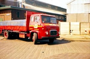 Nieuwe Scania semi front