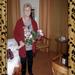 50jarig huwelijk in berlijn terry met de bloemen