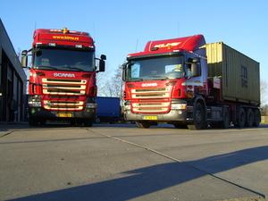 laatste 2 aangeschafte Scania's