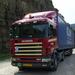 Op de A75 ten zuiden van Millau