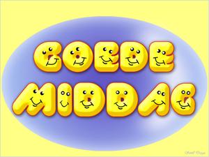 lachende gezichtjes