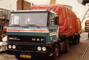 DAF-2300 Wondergem-Transport Rotterdam