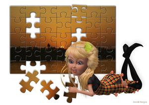 puzzel struktuur palson