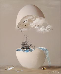 manipulatie eierschelp