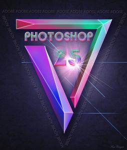 PHOTOSHOP 25 jaar
