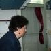 Discusie in de slaap cabine