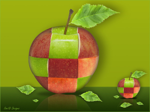 gemanipuleerde appel