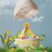 manipulatie eierschelp pasen
