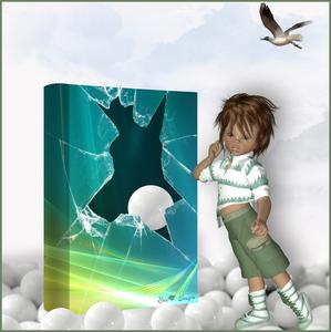 boek gebroken glas