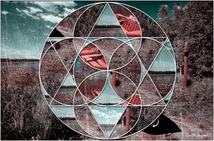geometrische colage