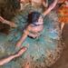 Swaying Dancer - Dancer in Green