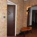 Hostellerie Kemmelberg - ingang naar onze kamer