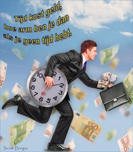 tijd kost geld