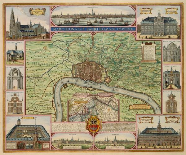 Antwerpen het markgraafschap 1624