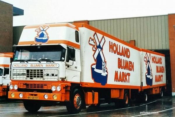 DAF-3300 Holland Bloemen Markt